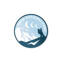 Hoth National Park Sticker