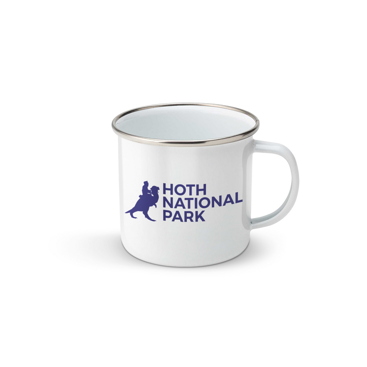 Hoth National Park - Enamel Mug