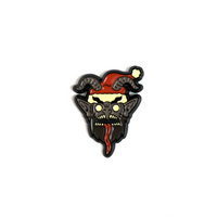 Midnight Krampus - Enamel Pin