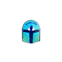 Mandalore (Night) - Enamel Pin