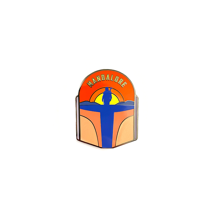 Mandalore (Day) - Enamel Pin