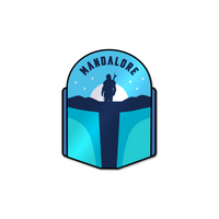 Mandalore (Night) Sticker
