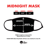 Midnight Pizza (Red) - Mask