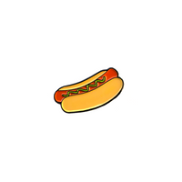 Mustard Dog - Enamel Pin