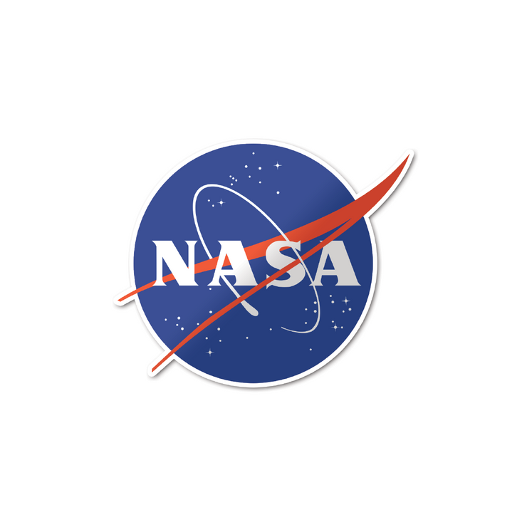 NASA 'Meatball' Logo Sticker