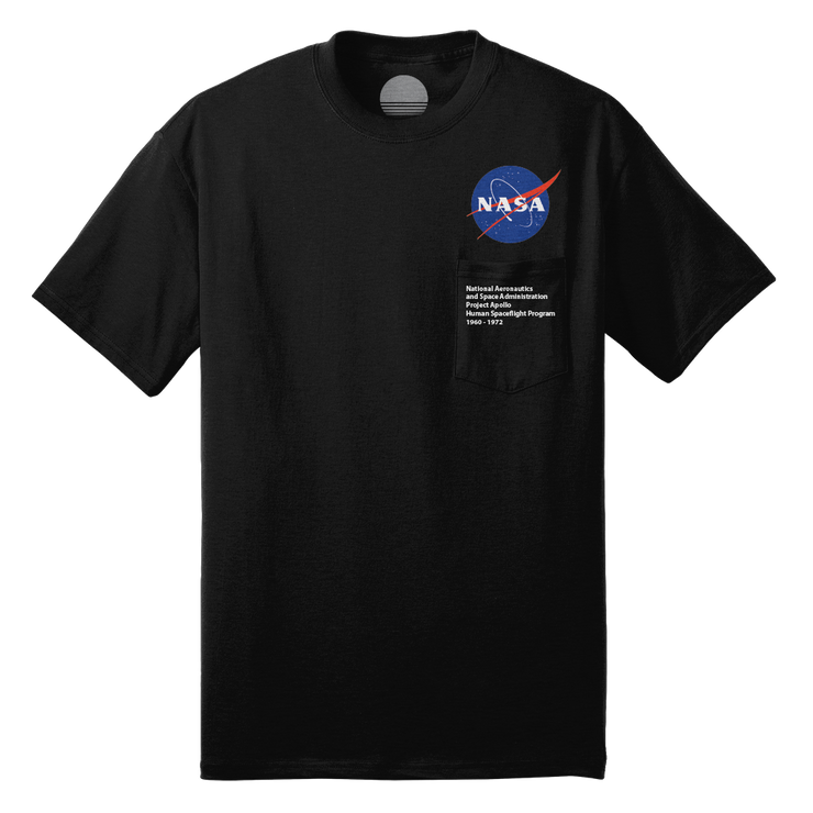 Project Apollo 'Meatball' Pocket Tee - Black