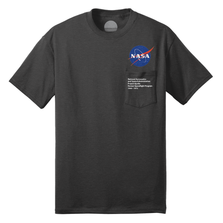 Project Apollo 'Meatball' Pocket Tee - Metal