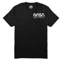 Project Apollo Tee I - Black / White