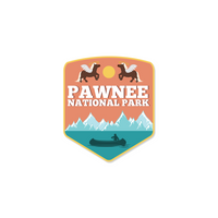 Pawnee National Park Sticker