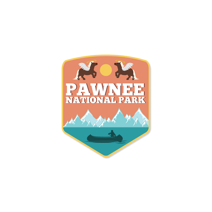 Pawnee National Park - Sticker