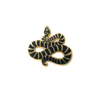 Poisonous Snake - Enamel Pin