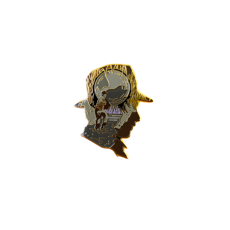 Raider (Gold Edition) Enamel Pin