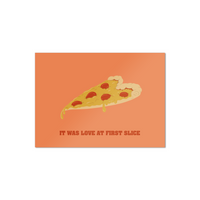 Love At First Slice Valentine's Day Card