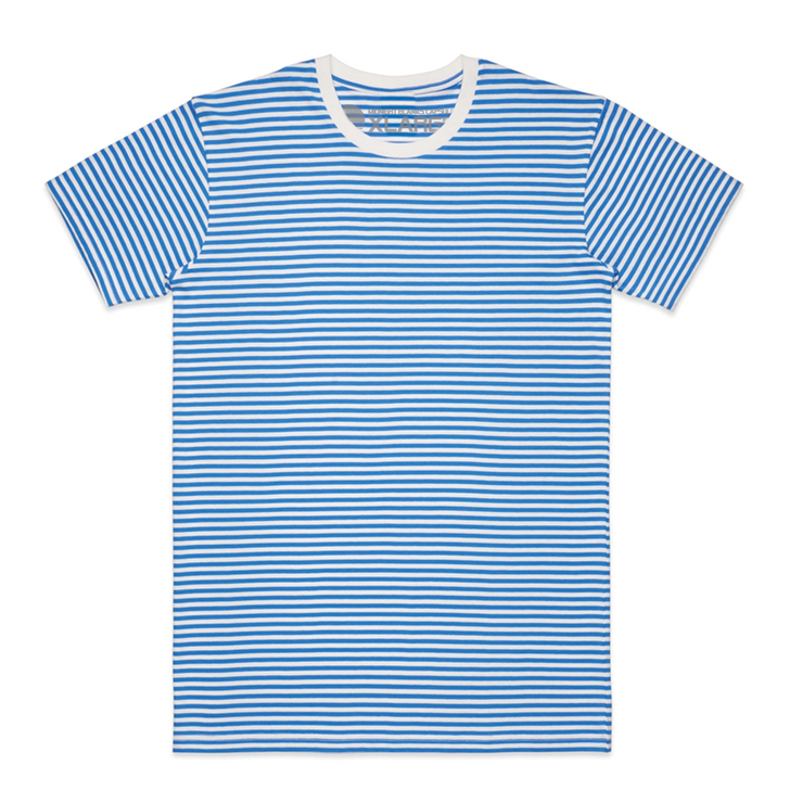 Super Stripe II Tee - Blue/Natural