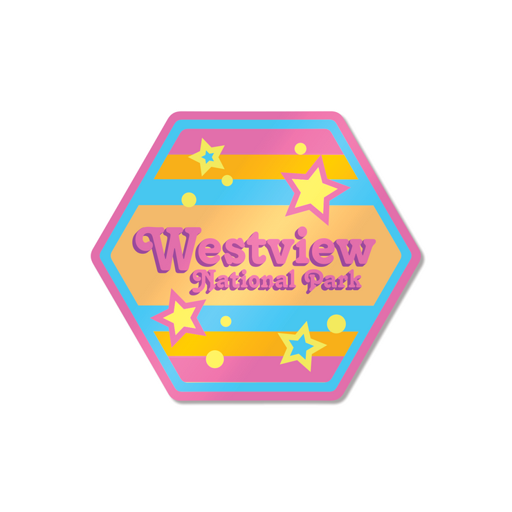 Westview National Park (1980s) Sticker