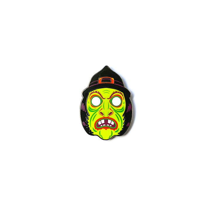Wicked Witch Enamel Pin