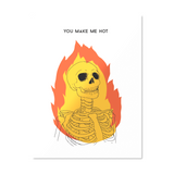 You Make Me Hot - Valentine's Day Card