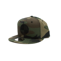 Sun Logo New Era® Snapback - Camo/Black