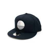 Sun Logo New Era® Snapback - Navy/White