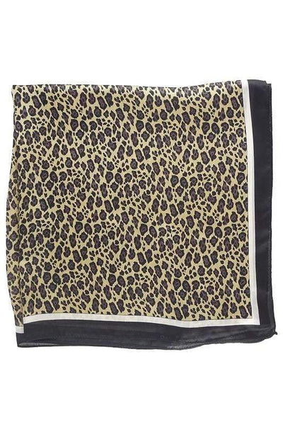 Accessorize In Style Accessories Specialty Leopard Animal Print Wild Rags
