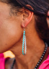 Accessorize In Style Fashion Earrings Fashion Teardrop Earrings - Turquoise
