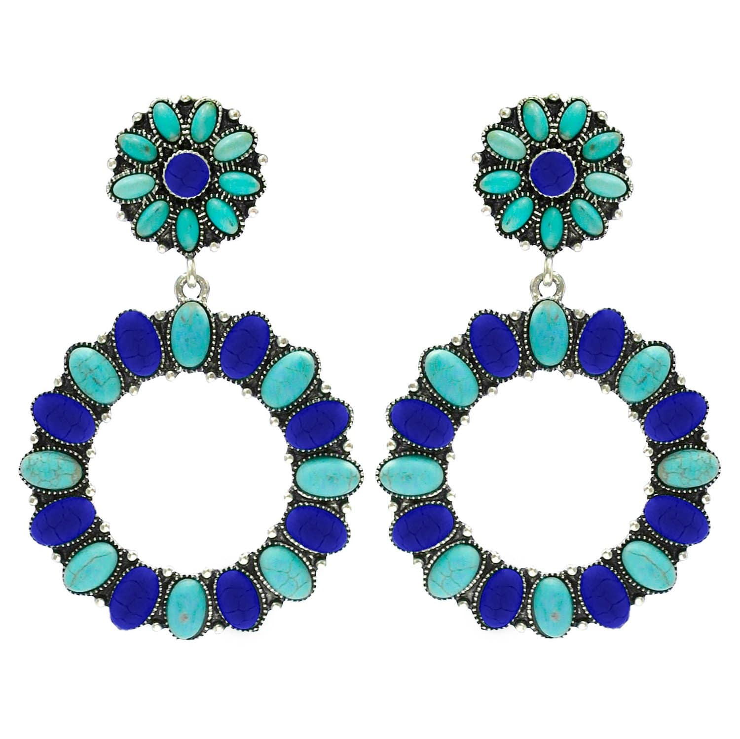 Accessorize In Style Fashion Earrings Fashion Turquoise Earrings