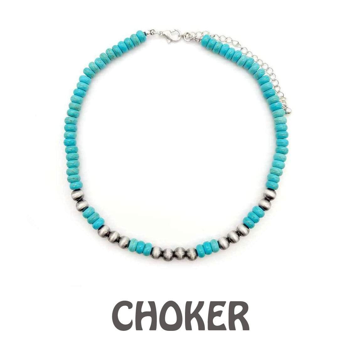 Accessorize In Style Fashion Necklaces Fashion Turquoise Choker