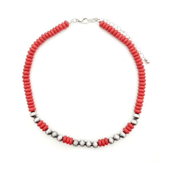 Accessorize In Style Fashion Necklaces Red - Fashion Choker