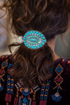 Accessorize In Style Fashion Specialty Fashion Turquoise Cluster Barrette