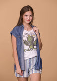Accessorize In Style Graphic Tees For The Love Of Cactus Tank Top