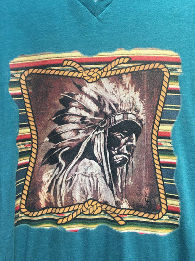 Accessorize In Style Graphic Tees Old Indian Chief T-shirt