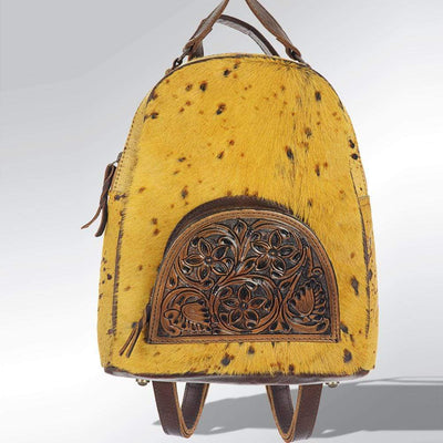 Accessorize In Style Mustard Hair on Hide Backpack