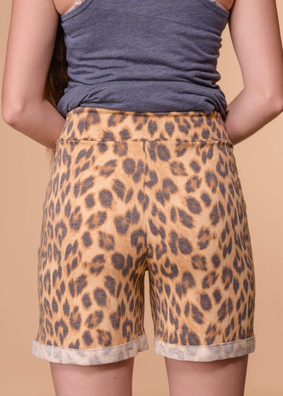 Accessorize In Style Shorts L&B Leopard Shorts