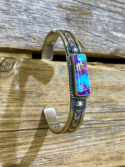 Accessorize In Style Sterling Bracelets Mojave Turquoise Bar Cuff