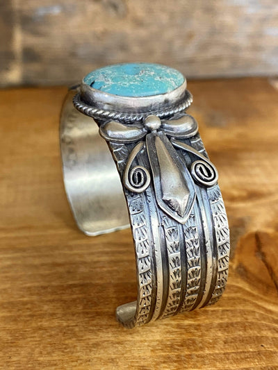 Accessorize In Style Sterling Bracelets Thomas Turquoise Sterling Cuff