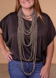 Accessorize In Style Sterling Navajo Pearls 10mm Navajo Pearl Necklace 14