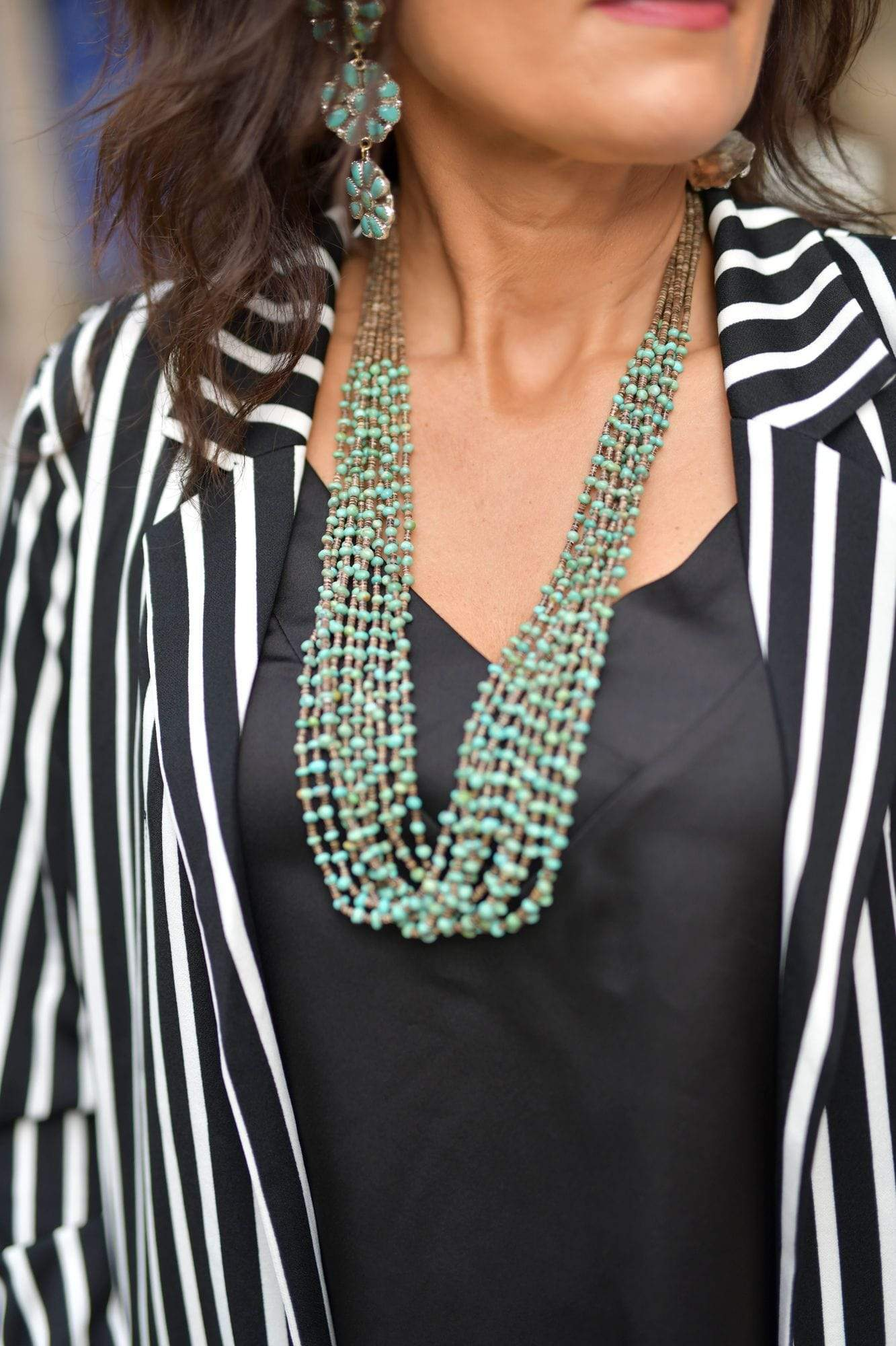 Accessorize In Style Sterling Necklaces Caesar Diez Turquoise Necklace
