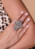 Accessorize In Style Sterling Rings Sterling Stamped Cross Ring - 9.5