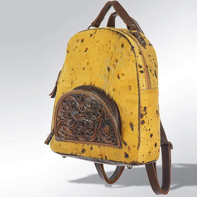 Accessorize In Style Yellow Hair on Hide Backpack