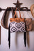 American Darling Handbags Aztec Woven Tooled Handbag