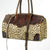 American Darling Handbags Cheetah Print Leather Duffle Bag