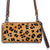 Leopard Hair on Hide Wristlet