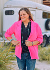 Andree by Unit Blazers Boyfriend Fit Blazer - Hot Pink