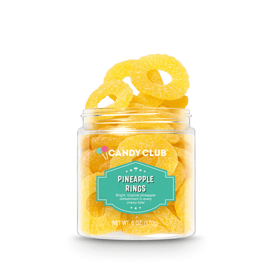 Candy Club Accessories Specialty Pineapple Rings
