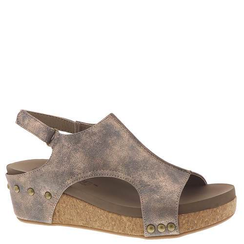 Wedge Studded Volta Sandals - Bronze