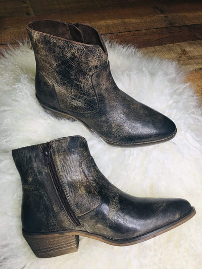 Diba Boots Cool Wind Charcoal Ankle Boot