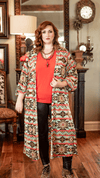 Honey Me Cardigans S Aztec Duster