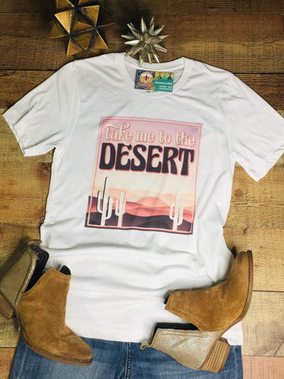 J. Forks Graphic Tees Take Me To The Desert T-shirt