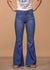 Judy Blue Full Length Hi Waist Super Flare - Medium Wash