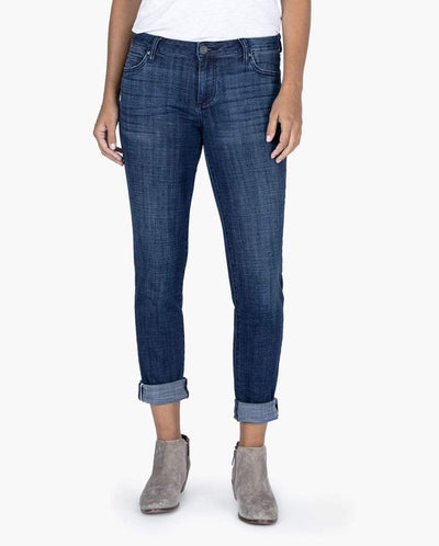 Kut from the Kloth Capris Catherine Boyfriend - Heroism Wash